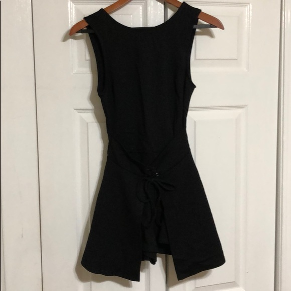Urban Outfitters Pants - New Urban outfitters black romper xs